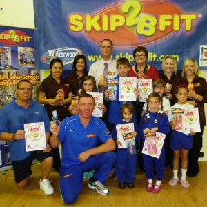 Fiona Mactaggart MP visits Skip2bfit prizewinner