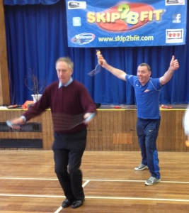 Julian Brazier MP joins in with Skip2bfit