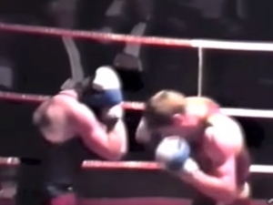 Watch John boxing in his heyday!